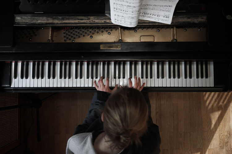 Only Women Piano Key Pianist One Woman Only Playing Arts Culture And Entertainment Musician Classical Music Creative Space 50 Ways Of Seeing: Gratitude