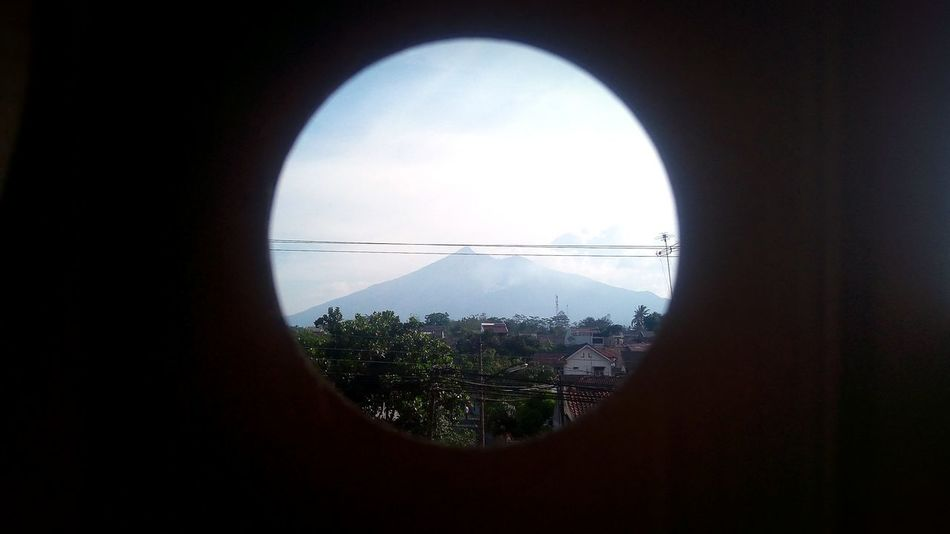 montain merbabu,central of java indonesia Montains    Viev A New Beginning Cityscape City Window Circle Sky Close-up Architecture Built Structure Cloud - Sky Geometric Shape Square Shape Skylight Skyscraper Downtown Skyline Tall - High Urban Skyline Office Building Hexagon