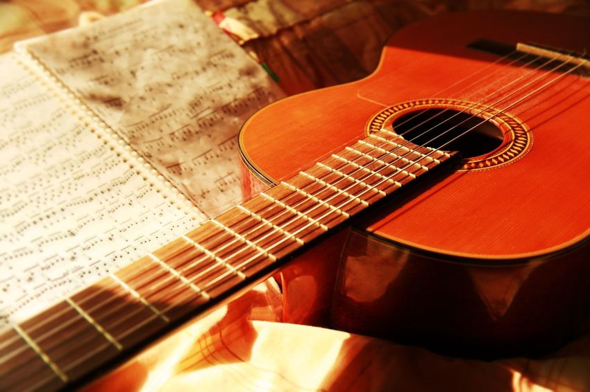 Music Musical Instrument Musical Equipment Arts Culture And Entertainment Guitar Still Life Indoors