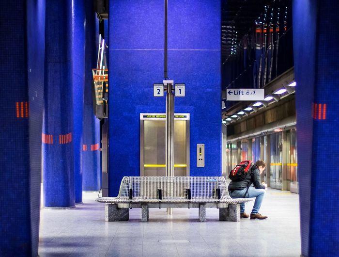 Showcase: January Blue Monday United Kingdom VSCO London Taking Photos City Taking Pictures Check This Out Urban Urbanphotography Station Subway Killtheunderground Notes From The Underground Tube Underground Subway Station Pmg_lon