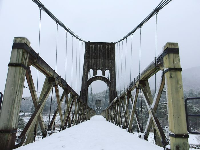 Nagano 妻籠宿 Snow Bridge 桃介橋