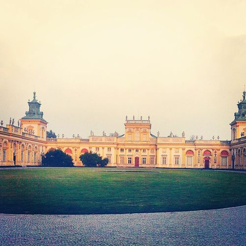 Wilanów Walk With My Love Baroque Architecture Colors Residence Palace