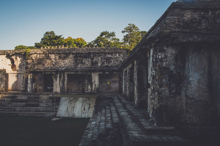 Ancient Ancient Ancient Architecture Ancient Civilization Architecture Built Structure Chiapas Day History Mexico No People Old Ruin Outdoors Palenque Palenque, Chiapas Piramid Piramide Sky Travel