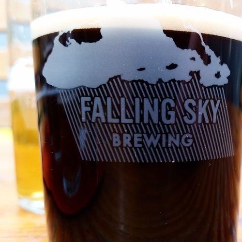 Post Toughmudder Portland Beer Flight at FallingSkyBrewing Eugene