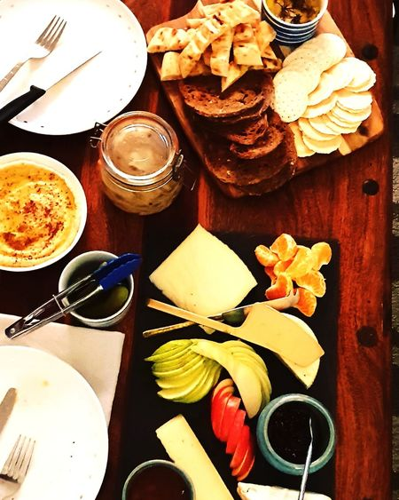 Crackers Cheese And Crackers Dips Dips And Sauces Olives Dinner Baked Cheese Truffle Cheese Brie Camembert Camembert Cheese Cheese Board Cheese Cheeses Appetizer Plate Table Healthy Lifestyle High Angle View Serving Dish Still Life Close-up Food And Drink Goat Cheese Salami Unhealthy Lifestyle Food Styling Cheddar - Cheese Ham Black Olive Autumn Mood