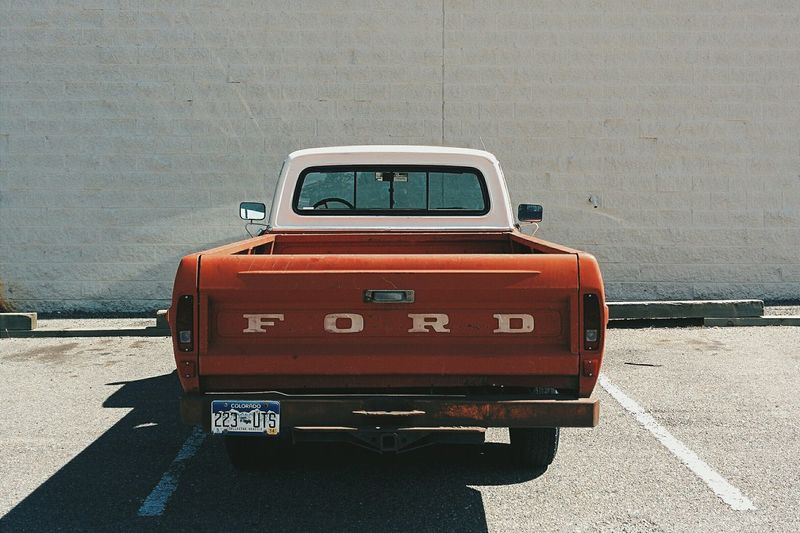 Wow! What a Ford !!! Vscocam Oldtimer Pickup