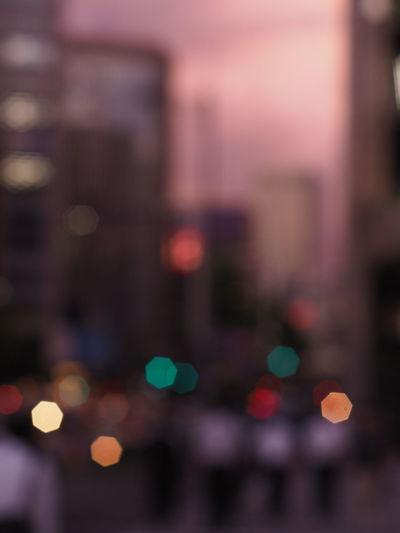 Heptagon Walking Around Taking Pictures Taking Photos Bokeh Photography Bokeh Relaxing Nightphotography Night View Streetphotography Olympus Om-d E-m10 Nikkor Lens Nikon Manual Streetview Nikkor Old Lens Lens Vintage Bokehlicious Bokeh Lights Sunset Night Eyeem Marketオールドレンズ