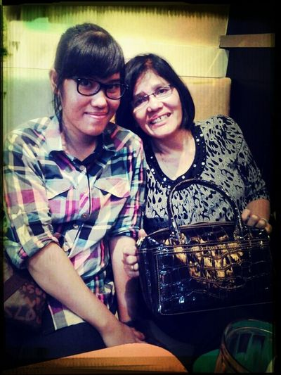 Lil Sis With My Mom