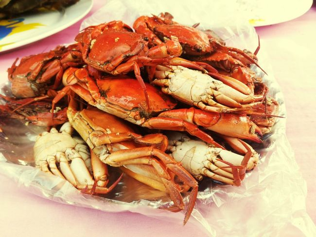 Crab Mentality EyeEm Selects Seafood Food And Drink Food Crustacean Healthy Eating No People Freshness Close-up Plate Food Stories