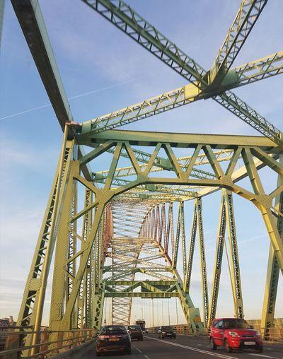 The Way Forward Bridge - Man Made Structure Bridging The Gap Vehicle Transport Transportation Metalwork Metal Structure Bridge Outdoors Backgrounds