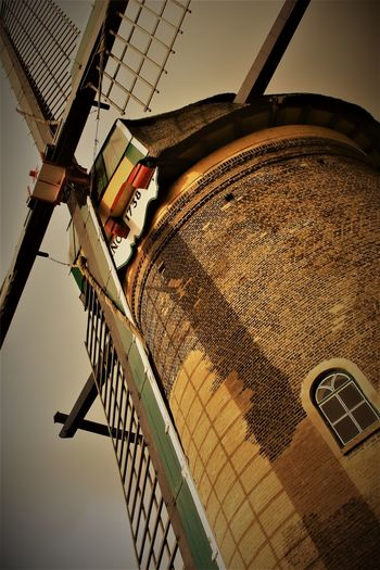 Architecture Built Structure Cafe Time Day Europe Holland Long Walks Low Angle View No People Old Old But Awesome Outdoors Photooftheday Sky Windmill
