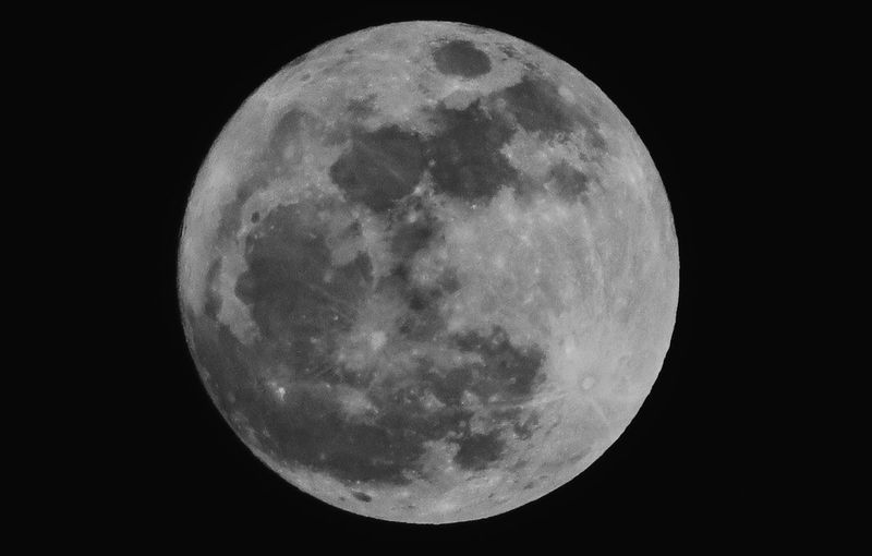 Astronomy Night Moon Space Planetary Moon Moon Surface Sky Beauty In Nature Circle No People Shape Nature Full Moon Scenics - Nature