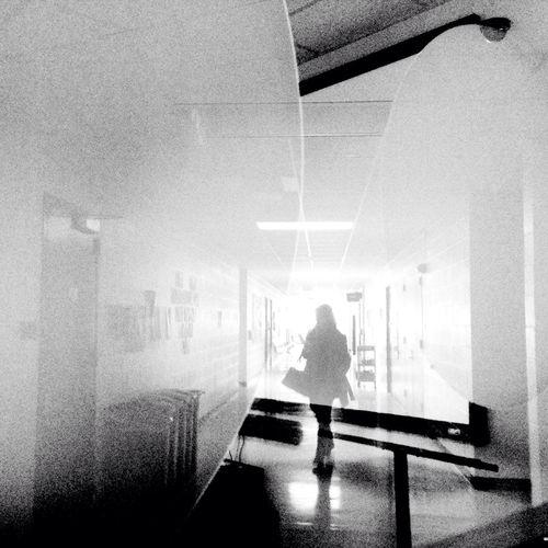Blackandwhite Light And Shadow Silhouette