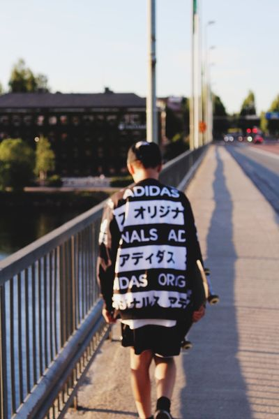 Summer Portrait Adidas Bridge