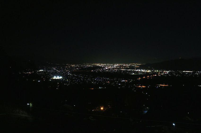 久々の姨捨駅から善光寺平。寒い((⛄))、空気が澄んでいて綺麗なのですが下手くそ📷 City Night Hanging Taking Photos Enjoying Life Hello World Night View Chikuma-shi