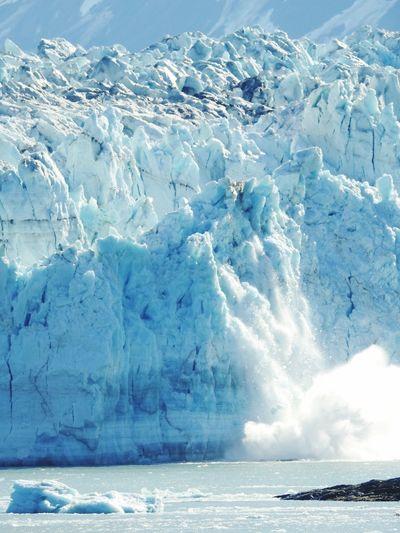 Melting glacier Alaska Cruise Water Cold Temperature Sea Beauty In Nature Scenics - Nature Ice Snow Glacier Frozen Landscape