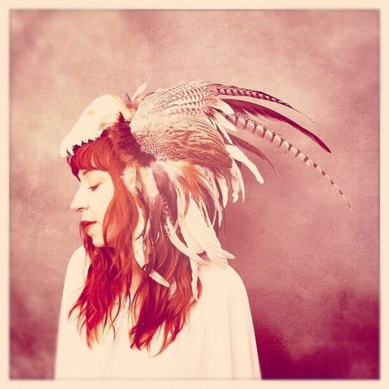 Let Your Hair Down Wild as the Wind Feathers Bones Nature