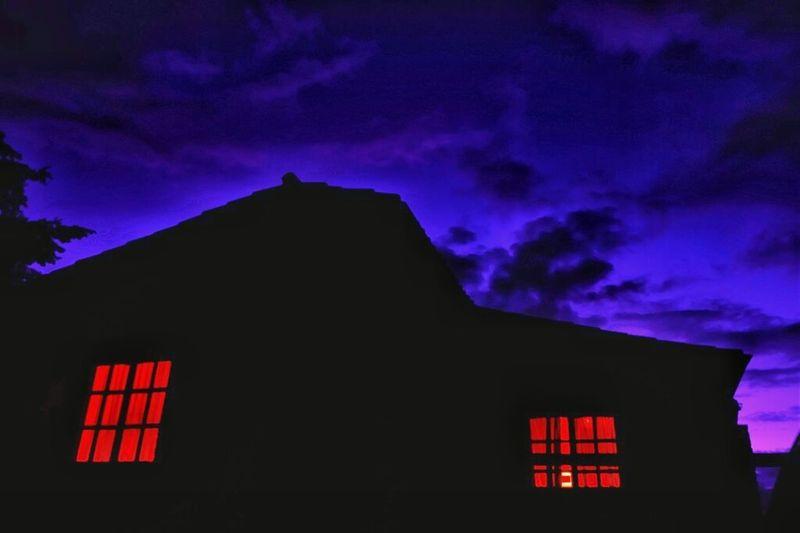 Sonyalpha Cielo Y Nubes  Paisajes Fotografianoturna Hora Azul Atardecer