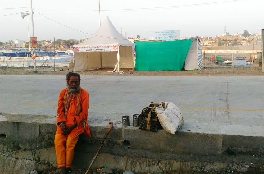 Simhastha Festival ,Ujjain ,India Sadhu Of India Kumbh 2016 Baba Shadhu Ram Ghat Ujjain India Faith On God Sadhu Up Close Street Photography The Great Outdoors With Adobe The Portraitist - 2016 EyeEm Awards Finding New Frontiers