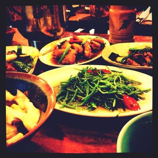 Hakka restaurant near by Gutin station in Taipei really delicious