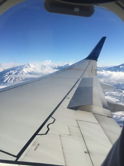 The Great Outdoors - 2016 EyeEm Awards Airplane From My Point Of View Airplane Window Wyoming Adventure Wyoming Landscape Snowscape Airplane Window View Plane Window