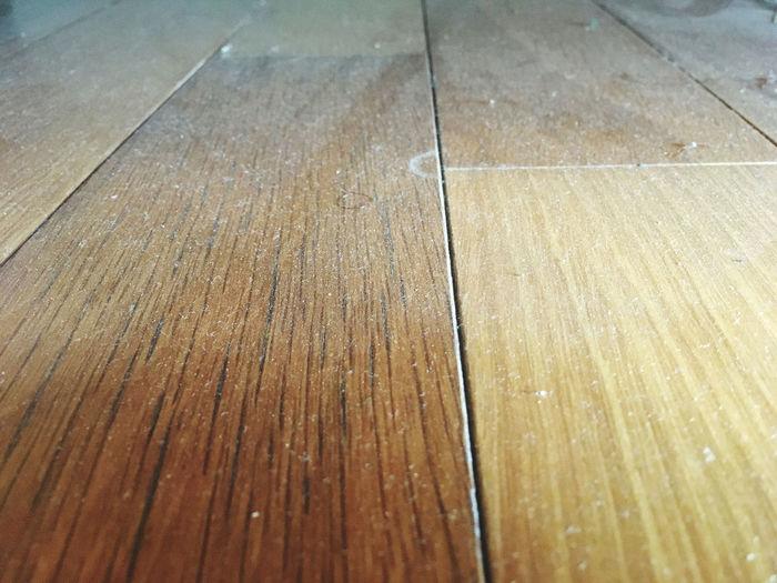 Dust on wood