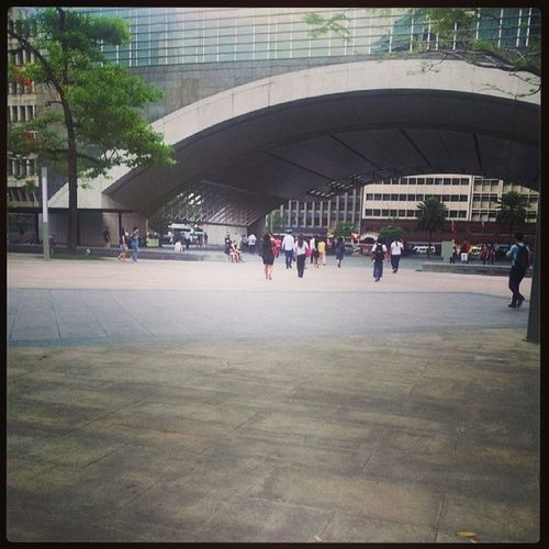 Ayala Ayalatriagle Makati Whereinmanila paseoderoxas On my way Home