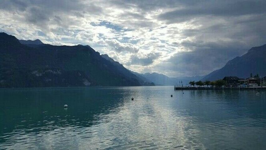 What I Live For  Sightseeing Eye Em Nature Lover Swiss Countrylife Switzerland Brienz The Alps German-swiss Peace And Quiet Noonearound Fishing The Traveler - 2015 EyeEm Awards