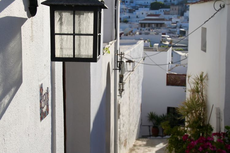 Architecture Building Exterior Built Structure Greece House Lindos No People Residential Building Residential District Rhodes Ródos Street White Whitewashed The Graphic City Architecture Building Outdoors