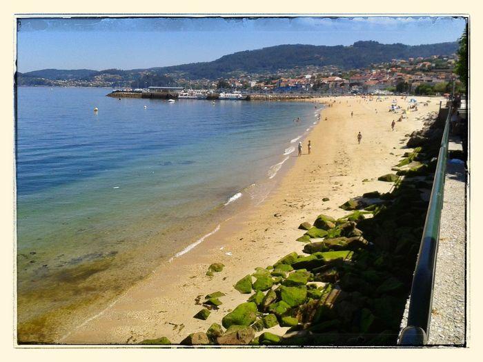 Bueu. Bueu Galiza Seascape Beach