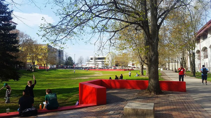 Quad Today pt. 2 New Jersey Photography Student Life Beauty New Jersey Nj MONTCLAIR Montclair State University Relaxing