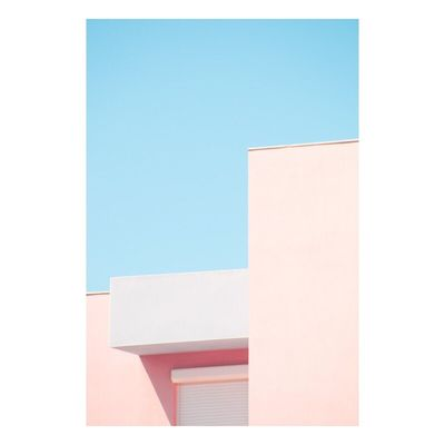 No People Day Architecture Contemporary Art Fine Art Photography Photography Simplicity Outdoors Building Exterior City Minimalism Abstract Colors Pastel Power Clear Sky
