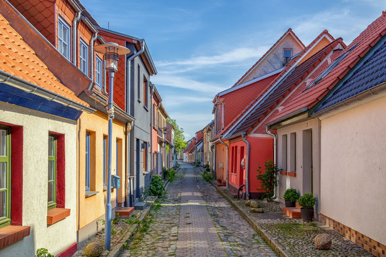 Architecture Building Exterior Built Structure Colorful Day No People Outdoors Residential Building Sky The Way Forward