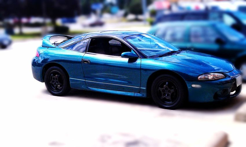 97 Mitsubishi eclipse gst favorite car ever owned Tuner Dsm Blue Car Land Vehicle Racecar Close-up Toy Car Parking Auto Racing Headlight Sports Car Collector's Car Vehicle Toy Stationary Parking Lot Tail Light Vehicle Light Vintage Car