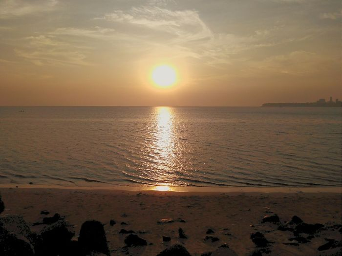 Beautiful evening at Nariman Point