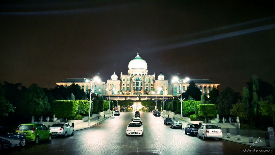 Government PrimeMinister Office Night Photography Putrajaya Architecture Galaxy Note 4 HDR Samsungphotography EyeEm Best Shots