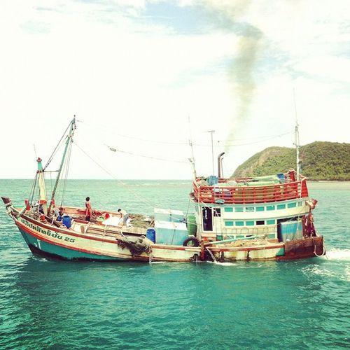 Fisherboat in #phangan Phangan