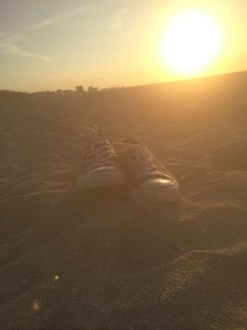 ❤️ the beach Europe Beach Beachphotography Sunset Converse Check This Out Enjoying Life Relaxing