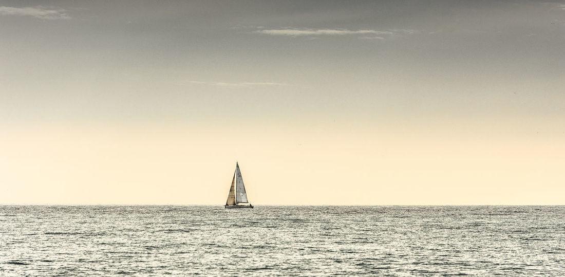 Boats⛵️ Clear Sky Calm Seas No People Sail Boaty Sea And Sky Water