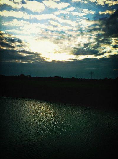 Am Wasser ist's doch am schönsten:-)