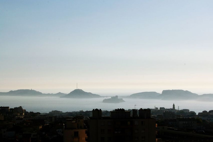 Îlle D'if Marseille Sea Mist France 🇫🇷 Côte D'Azur Frioul Islands Sea And Sky Landscape Beautiful No People Jail Marseille, Chateau D'if, Ile Du Frioul île