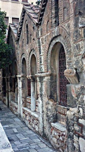 Old Church Landmark Temple Building Architecture Stone Masonry Discover Your City Urban ExplorationPlateia Kapnikareas Athens Greece