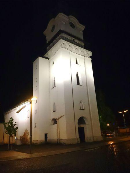 Church Nightphotography Night Lights Night View Nightshot