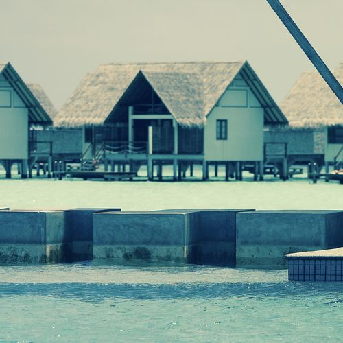 Architecture Enjoying Life EyeEm Best Shots Filter Getting Inspired Hello World Indian Ocean Maldives Ocean Outdoors Relaxing Sky Stone - Object Swimming Pool Taking Photos Travel Vacation Water Watervillage