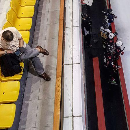 Streetphotography Sg_streetphotography Ice Hockey Sg_sport Sport Team Sport Dugout Singapore