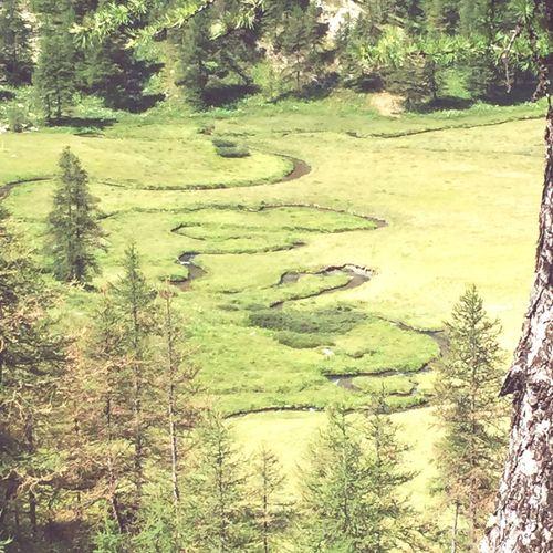 Ancien lac