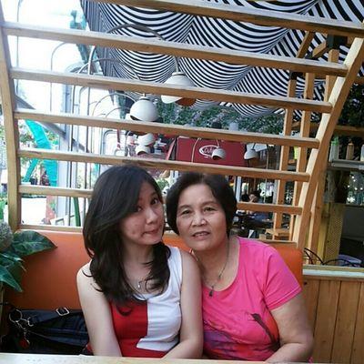 Me and my grandmother... Selca Soon Backto Taiwan havefun familytime instadaily instamood instagood