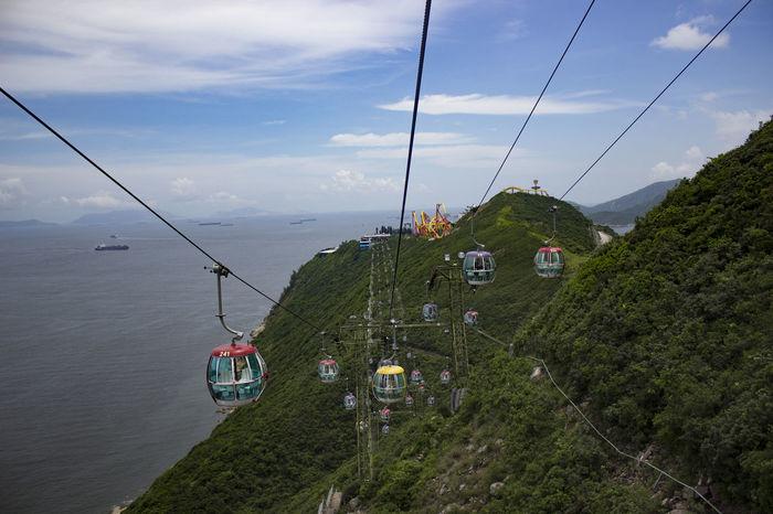#hongkong Cloud - Sky Nature Ocean Park Overhead Cable Car Sea Sky