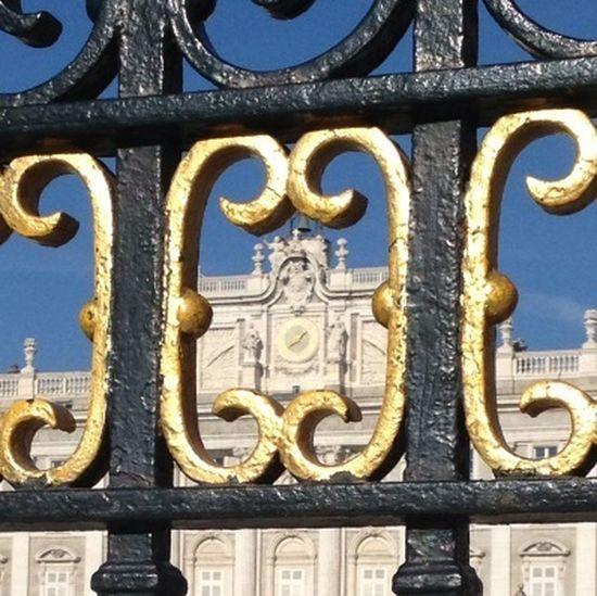 At Palacio Real, Madrid
