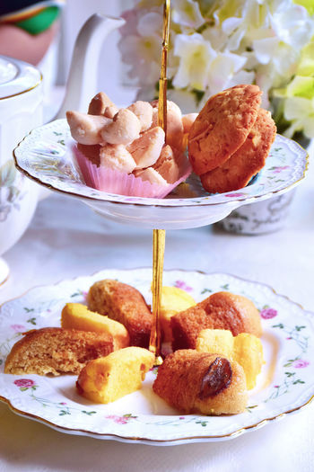 Tea time. Tier Stand Cake Cookie Tea Time. Afternoon Tea Baked Close-up Dessert Focus On Foreground Food Food And Drink Freshness Indoors  No People Plate Ready-to-eat Snack Still Life Sweet Sweet Food Table Temptation Unhealthy Eating Teapot